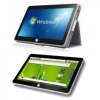 10 inch Tablet PC with Atom455, Win7 & Android 2.2 Dual OS,Capacitive, SSD