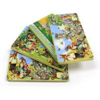 Buy cheap Wholesale Easter rectangular tin box for chocolates product