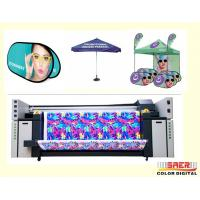 Buy cheap 2.0m Polyester Fabric Plotter T Shirt Printing Equipment 23 SQM/H Print Speed from wholesalers