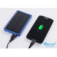 Buy cheap Emergency Charger 4000mAh Portable Solar Power Bank , solar power phone charger from wholesalers