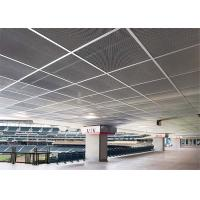 Buy cheap White Perforated Aluminum Ceiling Tiles , Aluminum Perforated Sheet High Gloss from wholesalers