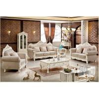 Buy cheap French Living Room Furniture Neo-classical Wooden 1 2 3 Sofa Set Designs from wholesalers