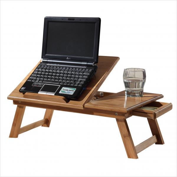 customized adjustable bamboo computer laptop desk e table portable folding laptop table for