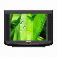 Buy cheap 14-inch CRT TV with Revolving Base in Black Color from wholesalers