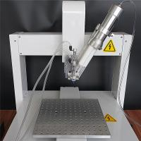 Buy cheap Dual Liquid XYZ-3 Desktop Automatic Glue Dispensing Machine / Pneumatic AB Dispensing Robat from wholesalers