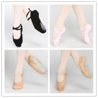 Buy cheap Dttrol leather canvas ballet shoes slippers from wholesalers
