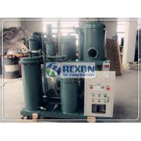 Buy cheap 380VAC Hydraulic Oil Purification Machine , Vacuum Oil Dehydration Machine product