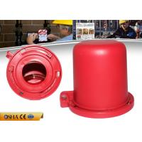 Buy cheap 55 Mm 63.5 Mm Commercial Electrical Plug Portable Safety Plug Valve Lockout from wholesalers