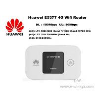 Buy cheap Original Unlock LTE FDD 150Mbps HUAWEI E5377 4G wireless Router With Sim Card Slot from wholesalers