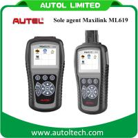 Buy cheap Autel MaxiLink ML619 (Upgraded Version of Autel AutoLink AL619) OBD2 2 Auto Scanner Car Scan Tool Code Reader from wholesalers