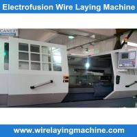 Buy cheap Polyethelyne hdpe pipe fittings  WIRE LAYING MACHINE from wholesalers