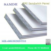 Buy cheap Insulation cement eps concrete interior sandwich wall panels with heat resistan 2440*610mm from wholesalers
