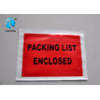 Buy cheap Peal and Seal Packing List  envelope enclosed , Poly Mailing Bags from wholesalers