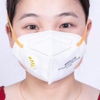 Buy cheap Hospital Daily Use White N95 KN95 Folding Dust Masks from wholesalers