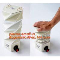 Buy cheap Customized plastic transparent oil bib bag pouch in box 20 liter,China Factory Direct Supply BIB Empty Bag In Box BAGEAS from wholesalers
