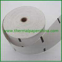 Buy cheap ATM receipt paper 80x150mm for Diebold, NCR, Wincor Nixdorf,etc from wholesalers