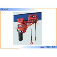 Buy cheap Light And Durable Harrington Chain Hoist 3m To 130m Length Water Proof Push Button from wholesalers