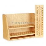 Buy cheap Countertop Wooden Display Racks Detachable For Essential Oil Merchandising from wholesalers