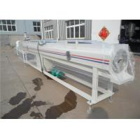 Buy cheap Automatic Plastic Pipe Extrusion Line For PP-R Cool / Hot Water Pipe from wholesalers
