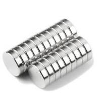 Buy cheap N42 D8x3mm Disc magnet  Zinc Plating Professional Customized Neodymium Magnet from wholesalers