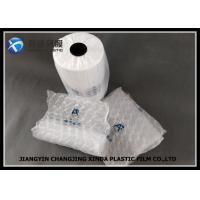 China Void - Filled Recyclable Air Cushion Film / Dunnage Bag With HDPE Material , White Color on sale