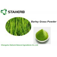 Buy cheap Water Soluble Vegetable Extract Powder , Green Barley Grass Powder Losing Weight from wholesalers