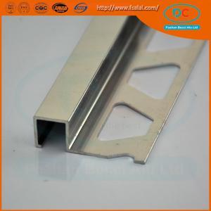 Buy cheap 6063 Chorme Aluminum tile trim ,aluminum extrusion product
