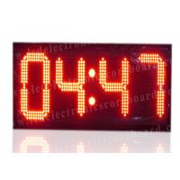Buy cheap High Brightness Large Stopwatch Clock With Hanging Brackets CE / ROHS Approved from wholesalers