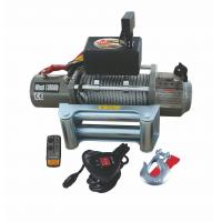 Buy cheap Electric Truck 13000 LB Remote switch Control Cable Pulling Winch / Winches from wholesalers