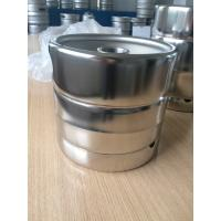 Buy cheap US Standard Mirror Polished 5L Beer Keg / Beer Package 215MM Height from wholesalers
