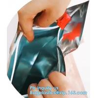 Buy cheap Child Proof Cigarette Plastic Bag Anti Moisture Laminated Aluminum Foil Mylar, Tobacco Plastic Child Proof Zipper Bags M from wholesalers