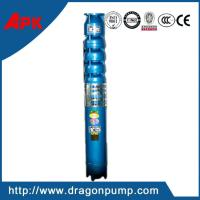 Buy cheap Vertical submersible deep well lift water pump, cast iron high head centrifugal pump from wholesalers