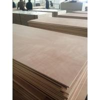 Buy cheap Competitive price with Good Quality Okoume face poplar core e2 glue Commercial Plywood from wholesalers