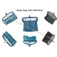Buy cheap Heavy Duty Deep Bag Leaf Rake Skimmer , Plastics Swimming Pool Cleaning Net from wholesalers