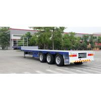 Buy cheap 45ft Low deck semi-trailer with 3 axles from wholesalers