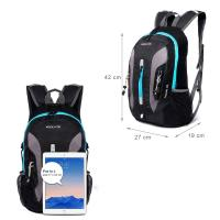 Buy cheap Wholesale Running Hiking Camping Cycling Riding Backpack Bike Rucksack Outdoor Travel Ultralight Sports with earphone ho from wholesalers