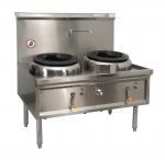 Buy cheap Commercial Hotel Kitchen Equipment Stainless Steel Wok Burner/ Cast iron ring Gas Wok Burner Range from wholesalers