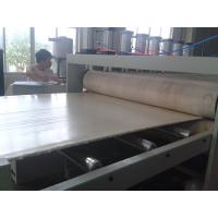 Buy cheap Custom PVC Kitchen Cabinet Foam Board Production Line With PLC Cntrol System from wholesalers