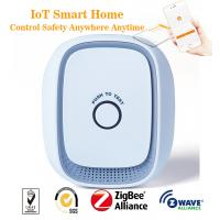 Buy cheap Smart IoT ZigBee Z-Wave Gas Leak Detector Control By APP Android And IOS from wholesalers