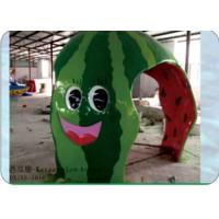 Buy cheap Funny Home Water Park Equipment Small Water House in Watermelon Shape from wholesalers