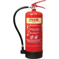 Buy cheap 6 Litre Foam Fire Extinguisher Inner Painting PVC Rubber Nozzle For Computer Room product