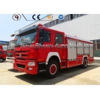 Buy cheap Brand New HOWO 20cbm Firefighter Truck Sinotruk 4x2 Fire Water Tank Truck from wholesalers