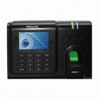 Buy cheap Time Recorder with Fingerprint, 3-inch TFT Screen and 3,000 User Capacity from wholesalers