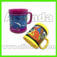 Buy cheap Custom and supply soft pvc decoration cartoon animal cute mugs for home office from wholesalers