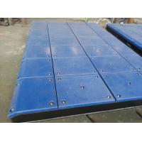 Buy cheap Customized Impingement Sheet Marine Fender System Bolted With UHMW - PE Face Pads from wholesalers