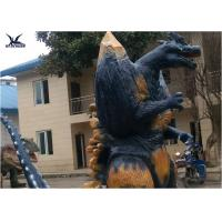 Buy cheap 2.3 Meters Amusement Park Giant Realistic Animatronic Godzilla Statues can move from wholesalers