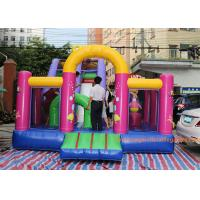 Buy cheap 7*4*5 M Inflatable Jumping House Customized size / color  With Slide for children from wholesalers