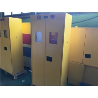 Buy cheap Double Door Flameproof Hazmat Storage Cabinets For Cylinder from wholesalers