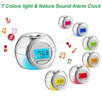 Buy cheap Colorful Light & Nature Sound Alarm Clock product