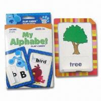 Buy cheap Collectible Flash Card with 4C Printing, Measures 88 x 120mm, Made of 500gsm Paper from wholesalers
